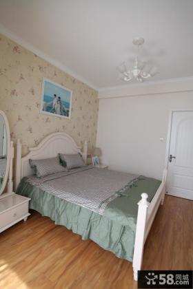 欧式田园风格小户型卧室装修效果图大全