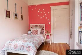 欧式简约小卧室颜色装修效果图大全2013图片