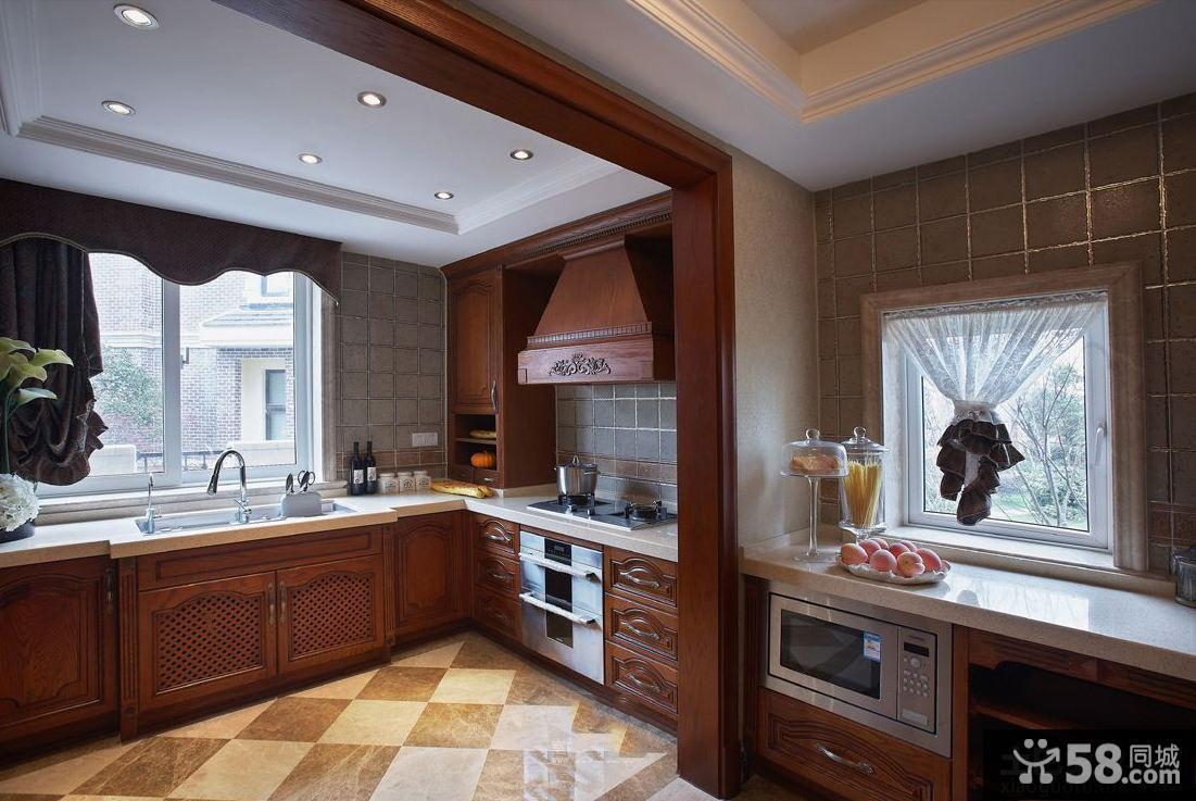 欧式古典风格厨房垭口图片图片