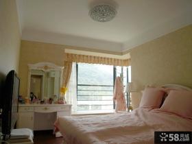 欧式公主房卧室装修效果图片