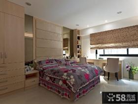 现代风格主卧室图欣赏