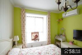 温馨田园风格卧室装修效果图片