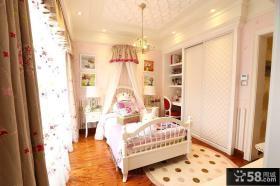 现代风格三室两厅儿童房装修效果图欣赏