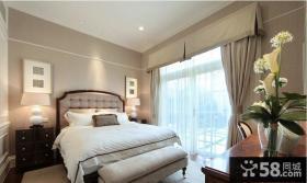 家装卧室欧式样板房实景图