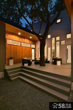 家庭设计露天阳台图片大全2014