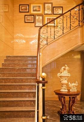 欧式别墅楼梯设计图大全