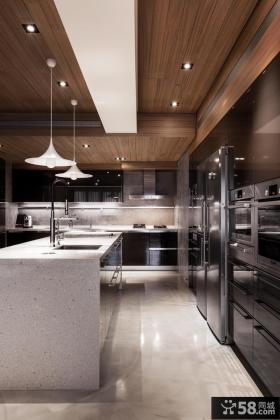 现代豪华高端居家厨房设计