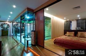 中式家装设计四居室图片欣赏大全