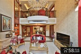 大气奢华欧式别墅装潢典例
