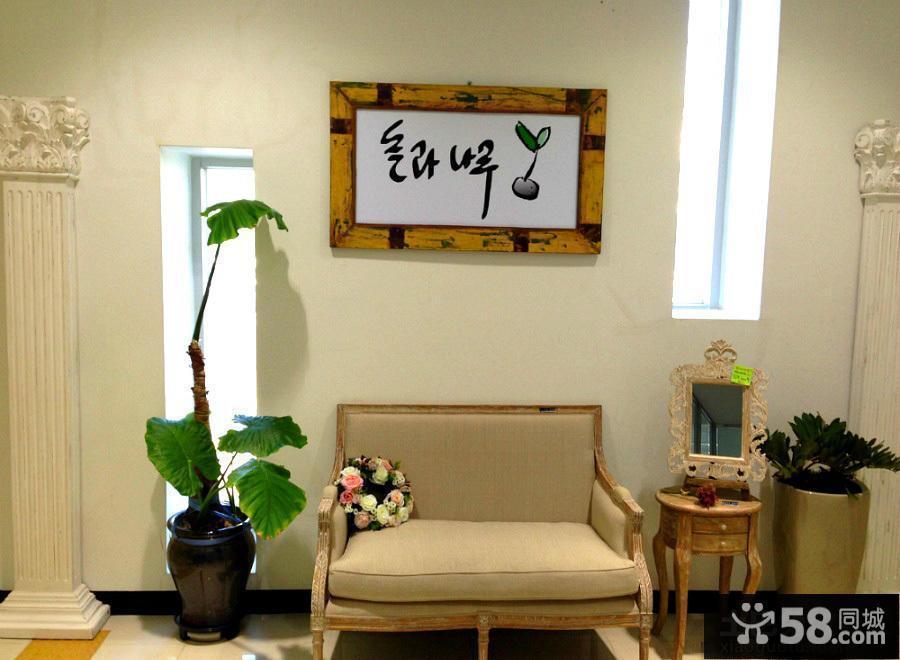 韩式田园风格装修墙面装饰图片