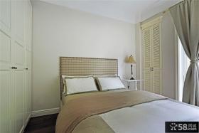 简约美式公寓卧室设计效果图欣赏