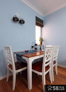 地中海别墅风格小餐厅效果图
