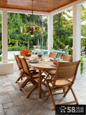 室外阳台折叠椅子设计图