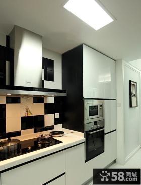 现代简约厨房集成吊顶效果图大全