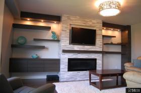 装饰家居客厅电视背景墙