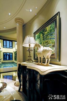 美式家装设计室内灯具图片大全欣赏