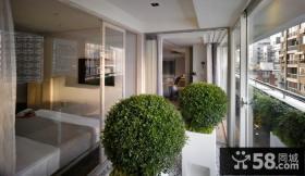 现代家庭设计阳台图片欣赏