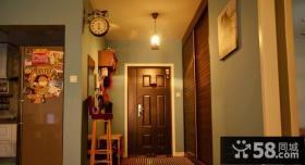 小户型进门玄关装饰效果图片