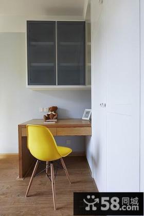 极简风格小书房装修效果图