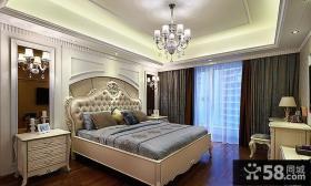 欧式风大卧室装修图片欣赏