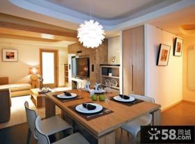 2014家庭设计室内餐厅图片大全