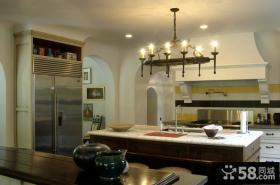 80平米小户型欧式开放式厨房装修效果图大全2012图片