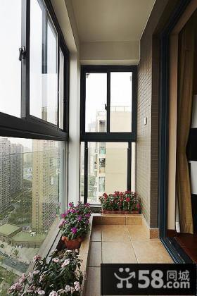 封闭家装阳台设计案例