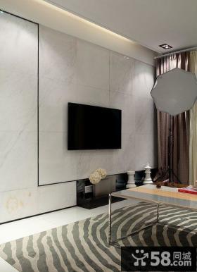 简约式家装背景墙装修效果图