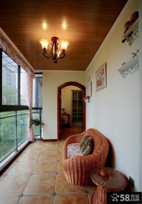 小户型室内阳台设计图