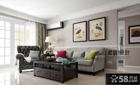 现代简约客厅装饰画欣赏