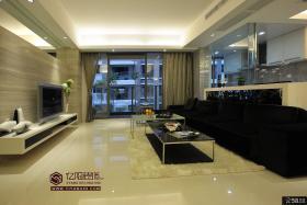 大户型现代家装客厅设计效果图