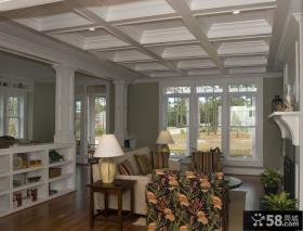 美式风格客厅装修家具图片