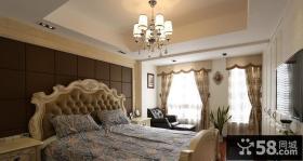 卧室吊顶灯具设计效果图