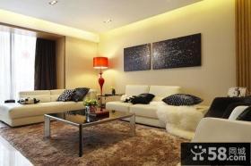 优质简约风格装修客厅图片欣赏