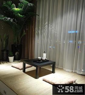 家庭设计室内飘窗榻榻米图片