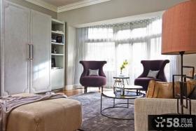 中西混搭风格复式楼家居室内效果图