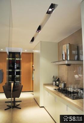家庭厨房简单装修效果图