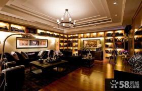 欧式装修豪华客厅图片欣赏大全