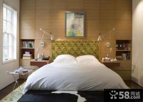 清新美式风格装修效果图卧室图片