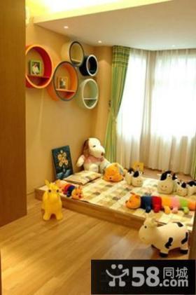 家装儿童榻榻米床设计