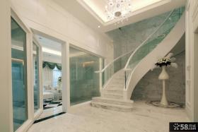 美式别墅楼梯装修图片欣赏大全