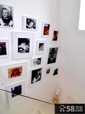 楼梯间照片墙设计