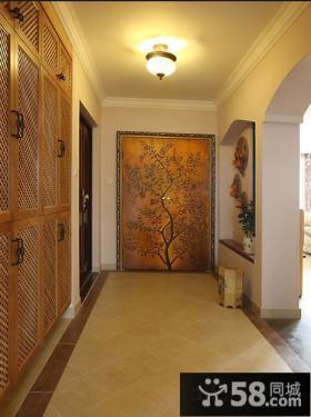 门厅鞋柜设计效果图·