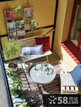 20平方米小户型阳台装修