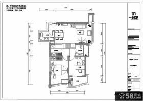 复式房子平面布置图