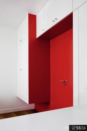 进门玄关壁柜装饰效果图