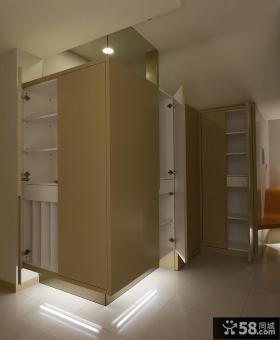 家居装修室内鞋柜
