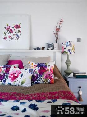 情迷地中海风格复式楼卧室装修效果图大全2014图片