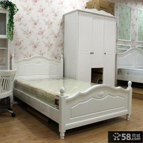 白色欧式卧室家具图片