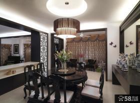 古典中式风格餐厅吊灯图片